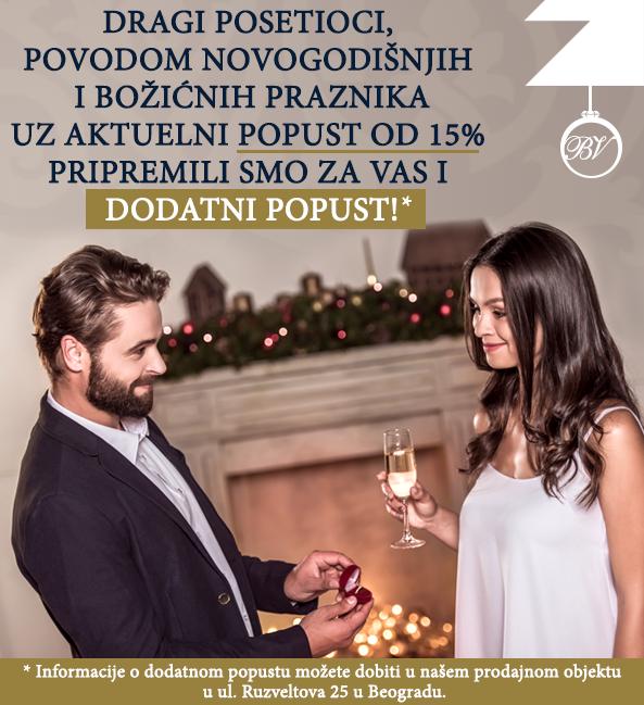 Dodatni popust povodom novogodišnjih i Božićnih praznika! Burme Vučković