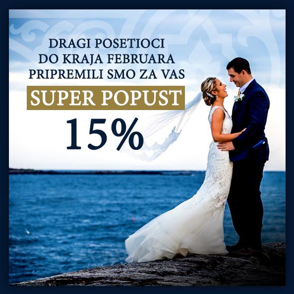 Specijalan popust 15% do kraja februara!